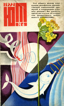 Юный техник. Выпуск №6 за июнь 1972 года.